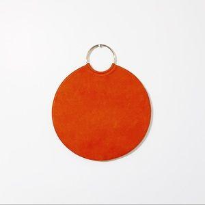 Orange Dot Purse